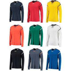 Hummel Authentic Charge Poly Jersey LS - Herren Langarm Trikot - 15er Set