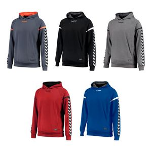 Hummel Authentic Charge Poly Hoodie - Herren Kapuzenpullover - 10er Set