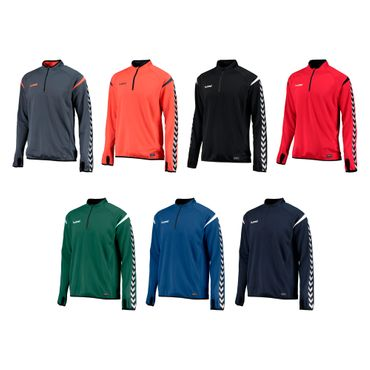 Hummel Authentic Charge Training Sweat - Herren Sweatshirt - 10er Set