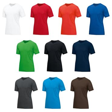 Jako Basics - Herren V-Neck T-Shirt - 6113 - 10er Set