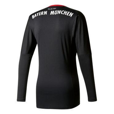 adidas FC Bayern München Herren Heim Torwarttrikot 17/18 - AZ7947 schwarz