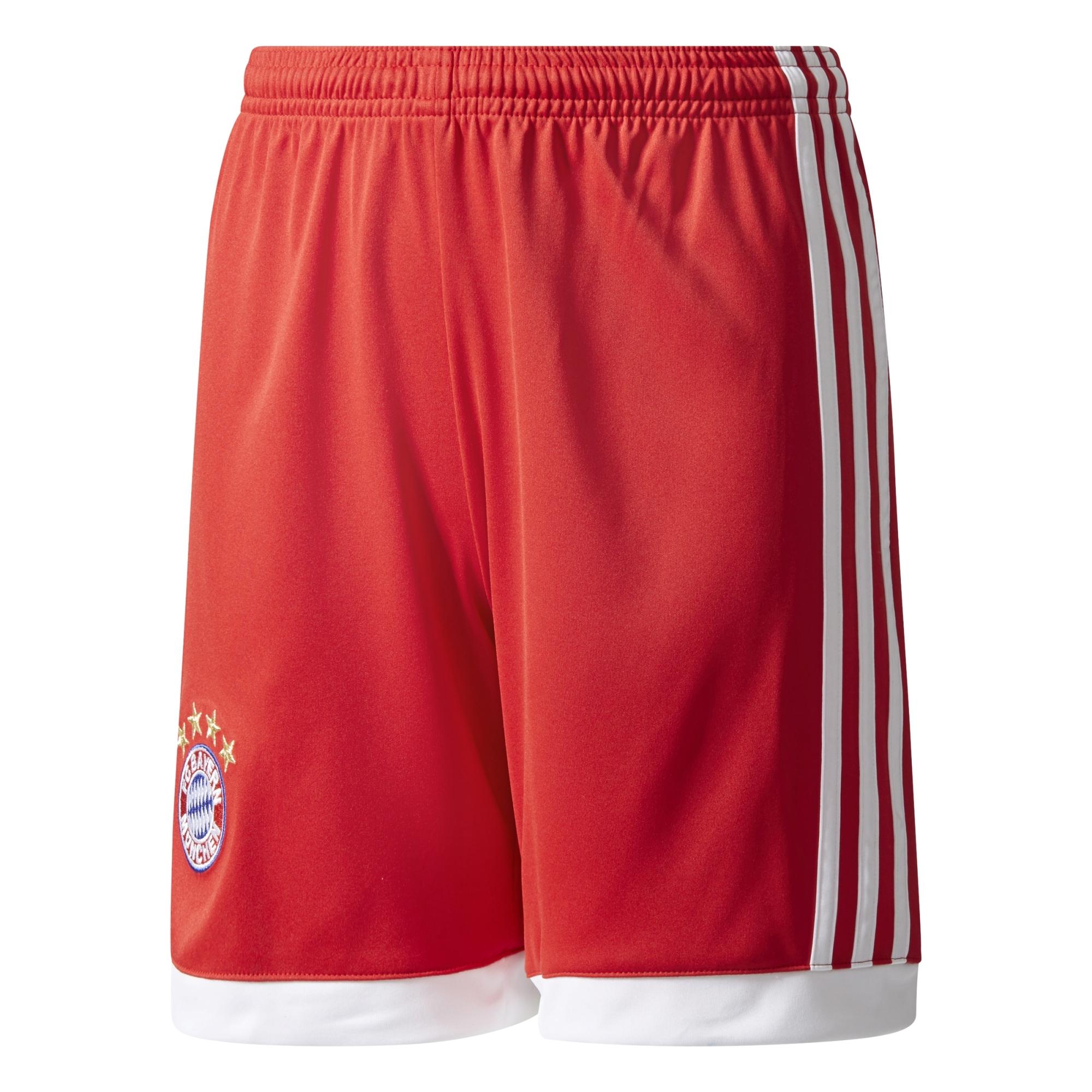 adidas FC Bayern München Kinder Heimshort 17/18 – AZ7948 rot