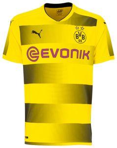 Puma BVB Borussia Dortmund Herren Heimtrikot 17/18 - 751670-01