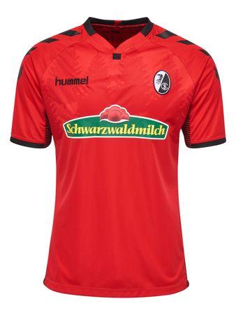 Hummel SC Freiburg Herren Heimtrikot 17/18 - 03775-3081 rot