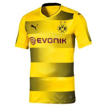 Puma BVB Borussia Dortmund Herren Authentic Heim Shirt 17/18 - 751669-01