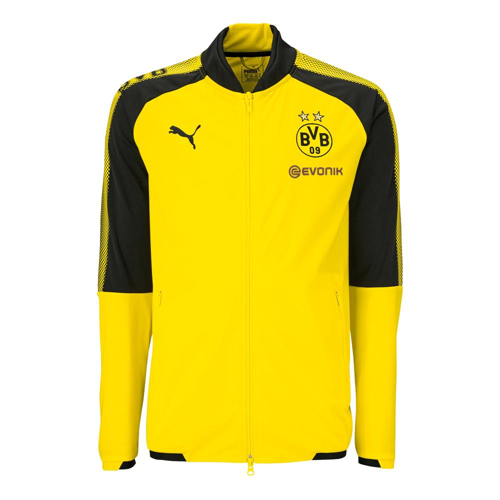 Puma BVB Borussia Dortmund Herren Polyester Jacket 17/18 – 751844-01