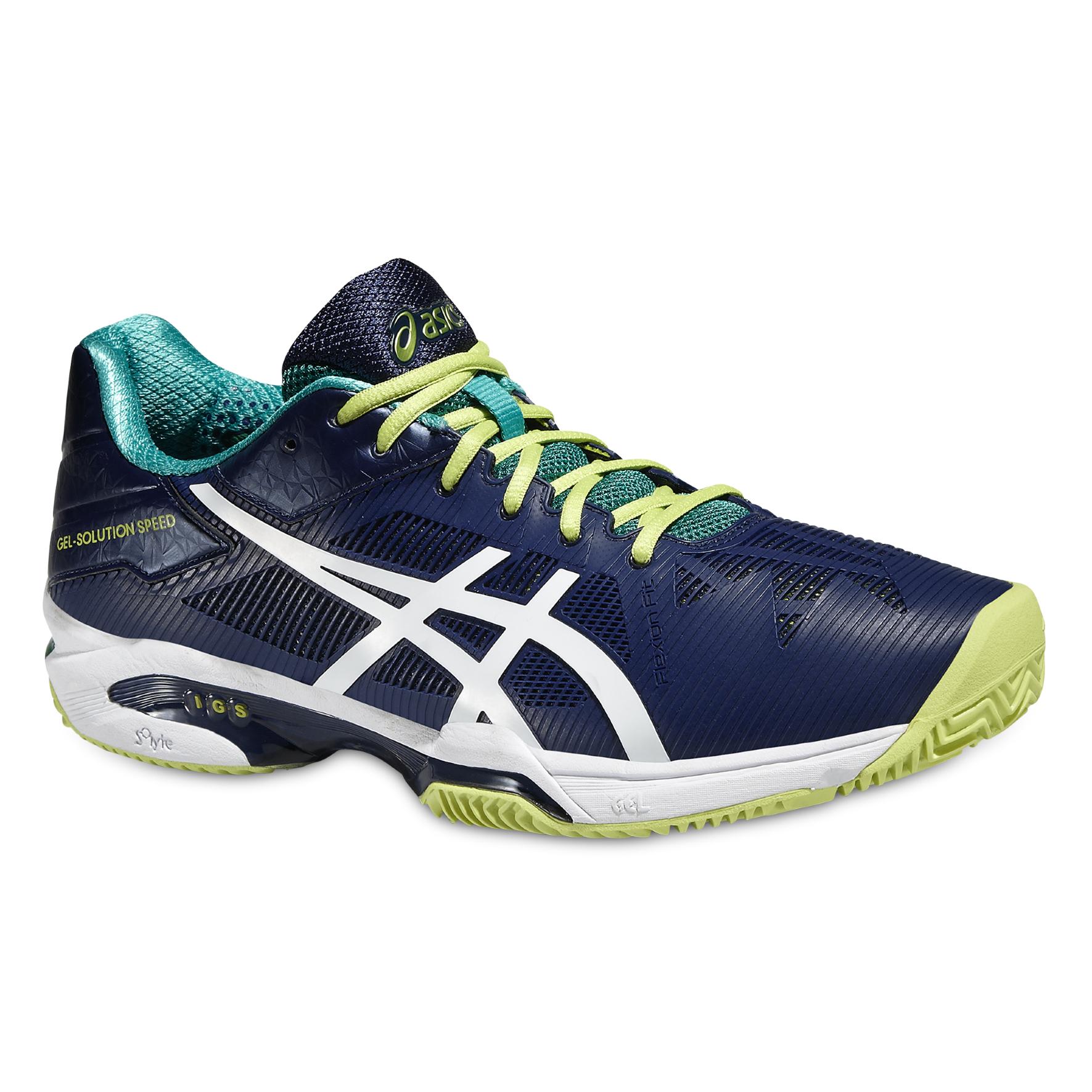 Détails sur Asics Gel solution Speed 3 Clay Tennis Hommes Chaussures e601n 5001 afficher le titre d'origine
