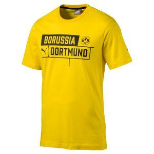 Puma BVB Borussia Dortmund Kinder Tee 17/18 - 751829-01