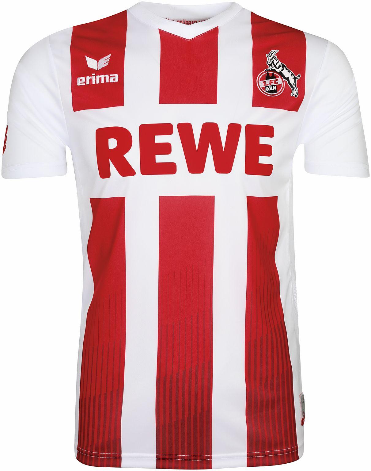 Erima 1. FC Köln Herren Heimtrikot 17/18 - 3130714