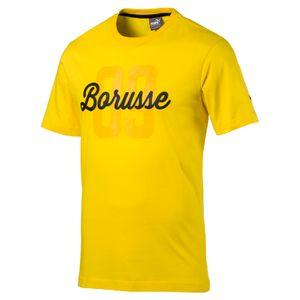 Puma BVB Borussia Dortmund BORUSSE Tee - BVB Herren T-Shirt - 751832-01