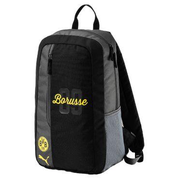 Puma BVB Borussia Dortmund Fanwear Backpack BVB Rucksack 17/18 - 074934-01