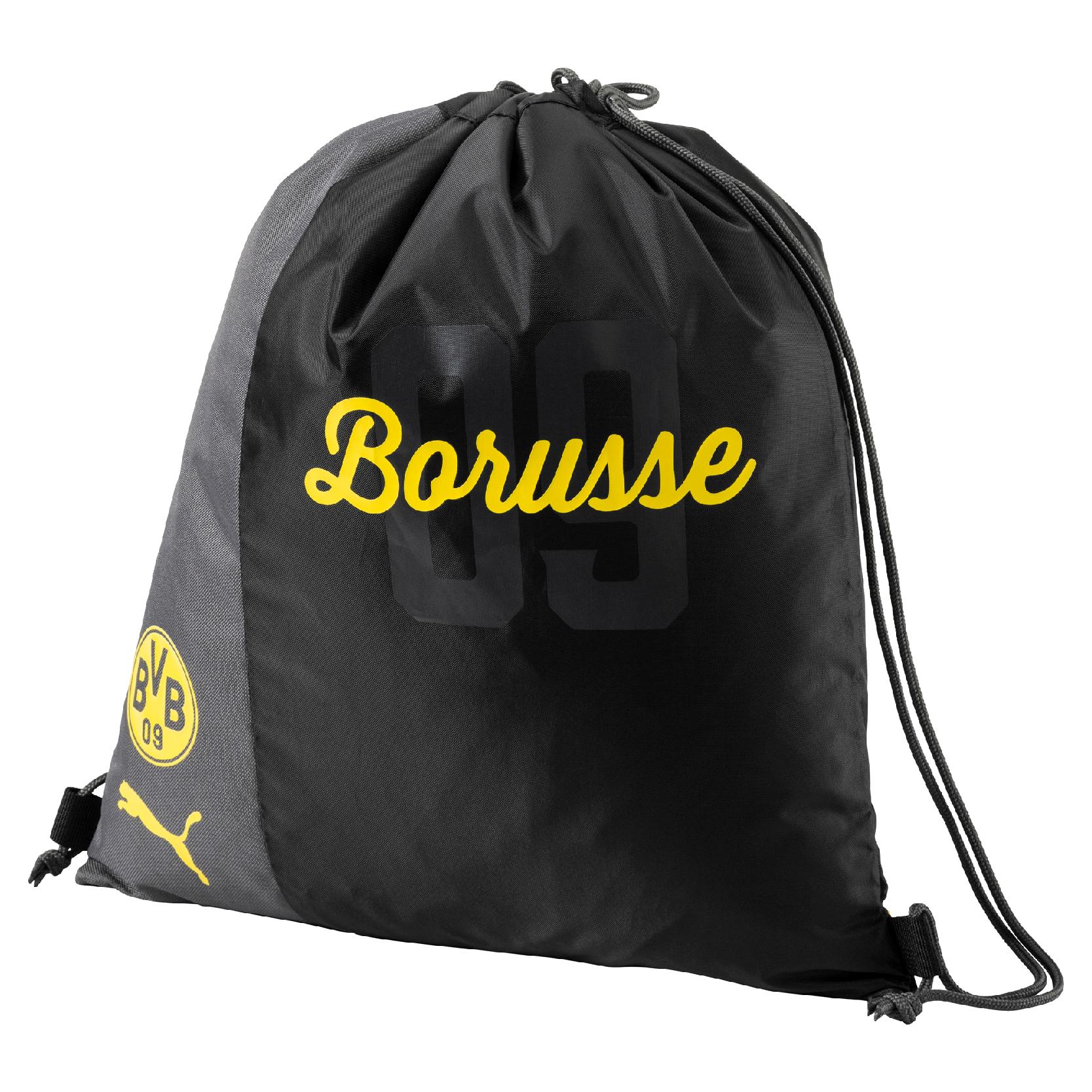 Puma BVB Borussia Dortmund Fanwear Gym Sack Turnbeutel 17/18 - 074935-01