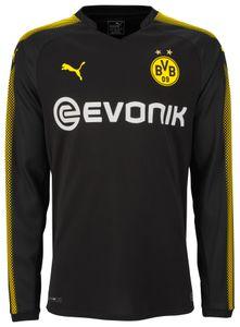 Puma BVB Borussia Dortmund Herren Langarm Auswärtstrikot 17/18 - 751674-02