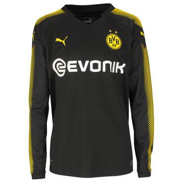 Puma BVB Borussia Dortmund Kinder Langarm Auswärtstrikot 17/18 - 751684-02