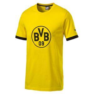 Puma BVB Borussia Dortmund Badge Tee 17/18 - Kinder T-Shirt - 750122-01