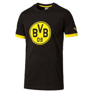 Puma BVB Borussia Dortmund Badge Tee 17/18 - Herren T-Shirt - 750122-02