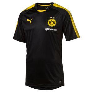 Puma BVB Borussia Dortmund Kinder Trainingsshirt mit Sponsor 17/18 - 751765-02