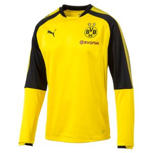Puma BVB Borussia Dortmund Herren Training Sweatshirt 17/18 - 751775-01 gelb