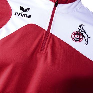 Erima 1. FC Köln Training Top 17/18 - Kinder Trainingstop Ziptop - 1260711