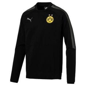 Puma BVB Borussia Dortmund Herren Casuals Sweat BVB Pullover 17/18 - 752019-02