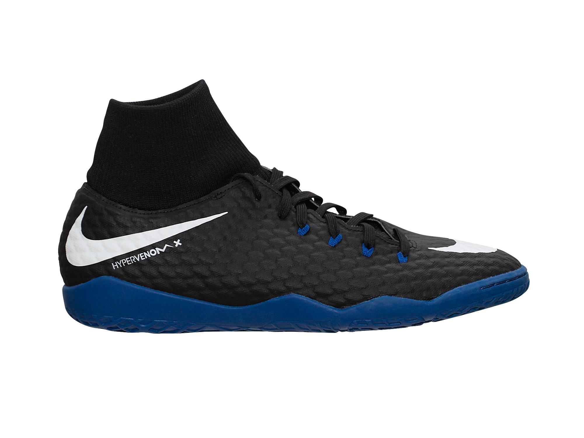 Nike Hypervenomx Phelon Iii Df Ic Herren Hallenschuhe 917768 002 Schwarz