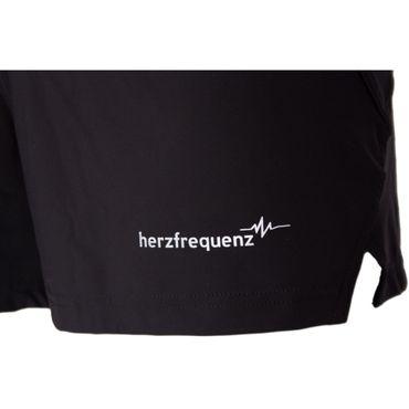 Herzfrequenz Shorts - Damen Short kurze Laufhose - 22004
