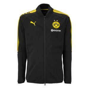 Puma BVB Borussia Dortmund Kinder Polyesterjacke 17/18 - 751844-02 schwarz