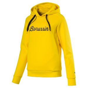 Puma BVB Borussia Dortmund Wms Fan Hoody - Damen Kapuzensweat - 751835-01