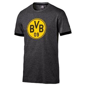 Puma BVB Borussia Dortmund Badge Tee 17/18 - Kinder T-Shirt - 750122-04