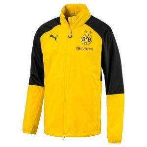 Puma BVB Borussia Dortmund Kinder Regenjacke 17/18 - 751786-01 gelb