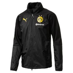 Puma BVB Borussia Dortmund Kinder Regenjacke 17/18 - 751786-02 schwarz