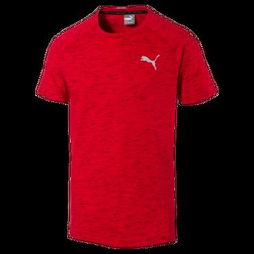 Puma Evostripe Spaceknit - Herren T-Shirt - 590624-09 rot