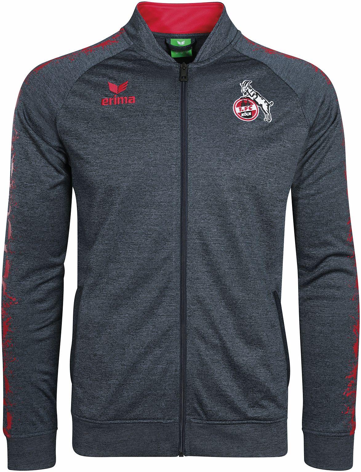 Erima 1. FC Köln Graffic 5-C Tracktop - Kinder Trainingsjacke - 2020704