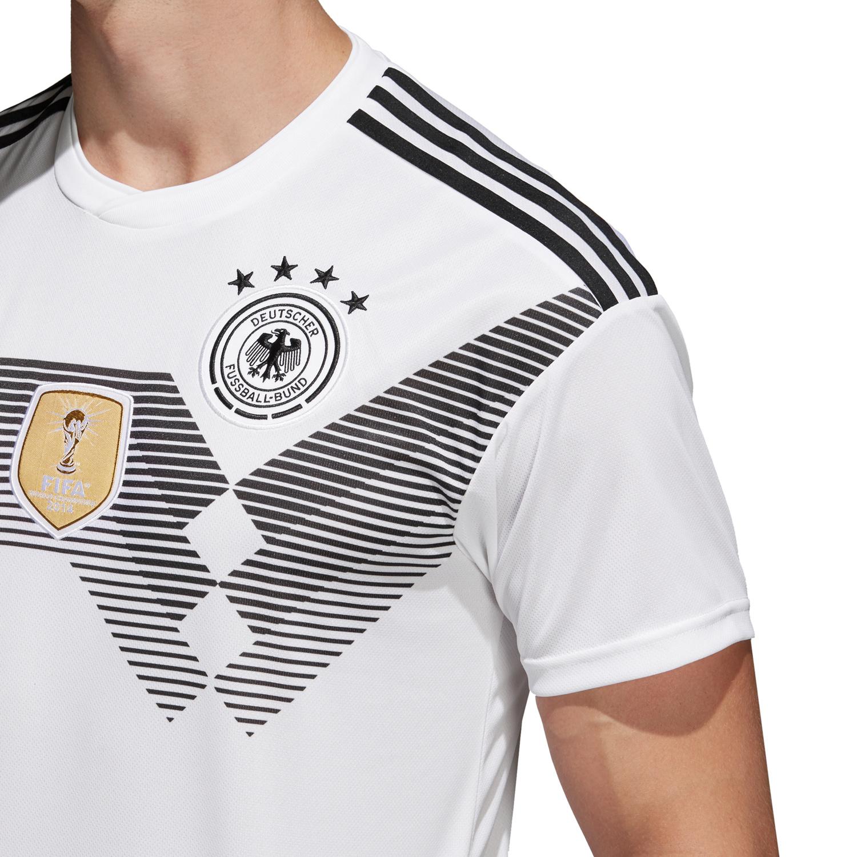 adidas DFB WM Trikot 2018 Herren Deutschland Heimtrikot BR7843 weiß