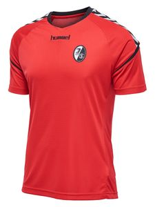 Hummel SC Freiburg Authentic Charge - Herren Trainingsjersey - 200722-3062 rot