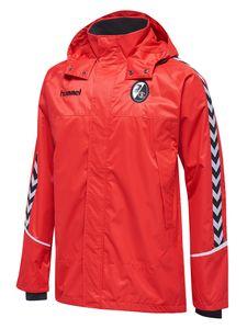 Hummel SC Freiburg - Herren Allwetterjacke - 200730-3081 rot