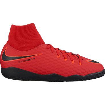Nike Jr Hypervenom Phelon III DF IC - Kinder Hallenschuhe - 917774-616 rot