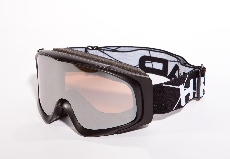 Head Icon – Skibrille Snowboard Brille mit Wechselscheibe – 373665 – Schwarz