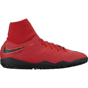 Nike HypervenomX Phelon III DF TF - Herren Kunstrasenschuhe - 917769-616 rot