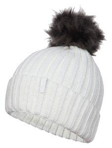 Icepeak Ila - Damen Winter Mütze Strickmütze - 855812578-010 weiß