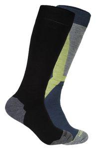 Icepeak Meo - 2 Paar Herren Skisocken Snowboard Socken - 858883500-365 marine