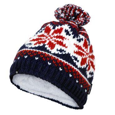 Icepeak Inda - Winter Mütze Skimütze Schal - 855816613-360 blau