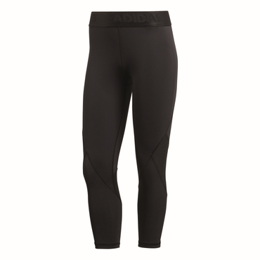 adidas AlphaSkin Sport 3/4 Tight - Damen Tight Trainingshose - CF6556 schwarz