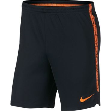 Nike Dry Squad Short - Herren Trainingsshorts - 859908-011 schwarz/orange