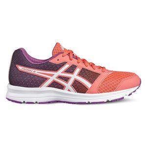 Asics Patriot 8 - Damen Laufschuhe Jogging Schuhe - T669N-2001 pink/orange