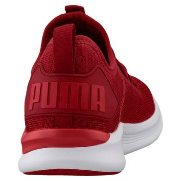 Puma Ignite Flash evoKNIT - Herren Fitnessschuhe Trainingsschuh - 190508-01 rot