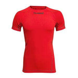 Hummel Underlayer KA Jersey - Kinder Funktionswäsche - 03537-3991 rot
