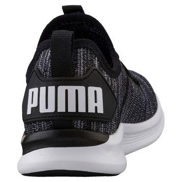 Puma IGNITE Flash evoKNIT - Damen Laufschuhe Fitnessschuhe - 190511-01 schwarz