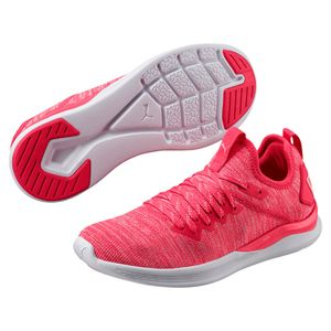 Puma IGNITE Flash evoKNIT - Damen Laufschuhe Fitnessschuhe - 190511-03 pink