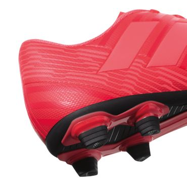 adidas Nemeziz 17.4 FG - Herren Fußballschuhe Nockenschuhe - CP9007 rot